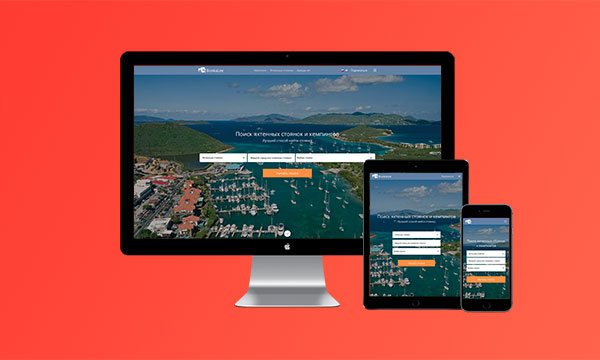Bookalee, разработка сайта, дизайн