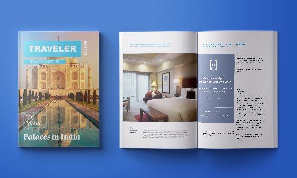 Alfes Hotels, дизайн рекламы для компании